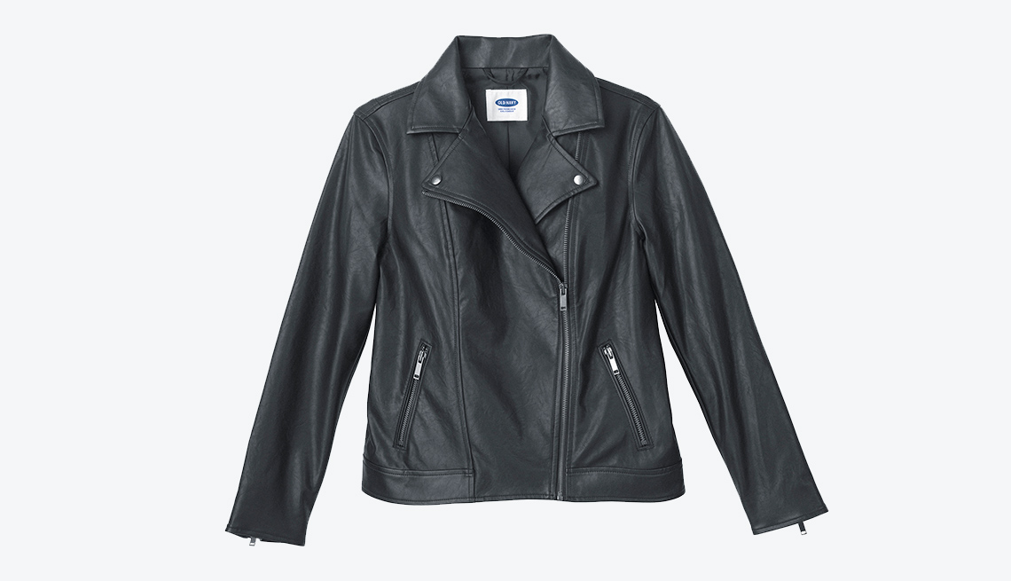 Old Navy Faux Leather Moto Jacket