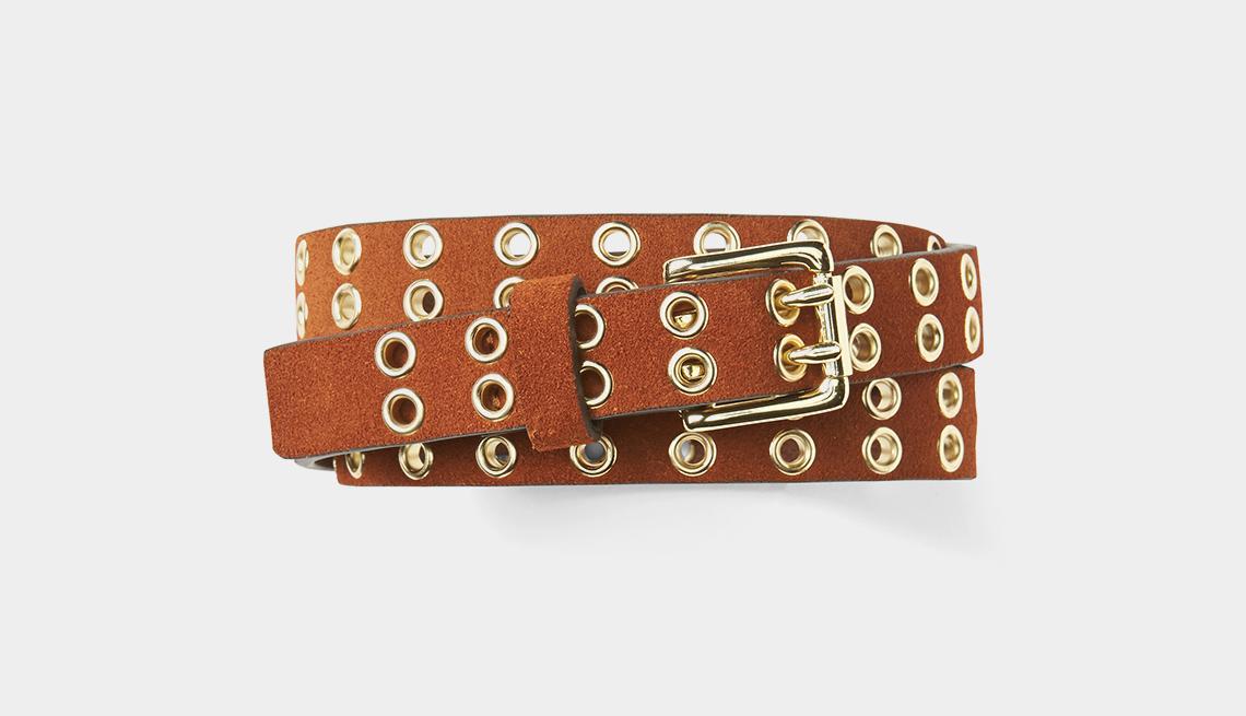 Gap Grommet Leather Belt