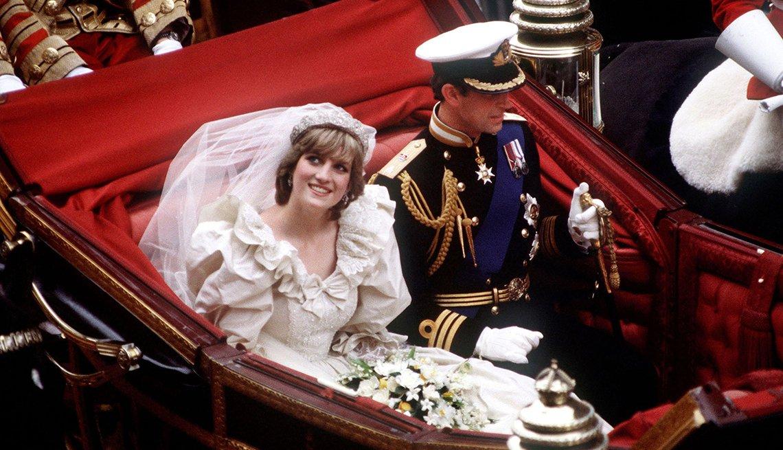 Diana y Carlos, recordando a Diana