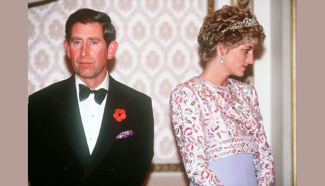 El príncipe Carlos y Diana, recordando a la Princesa de Gales
