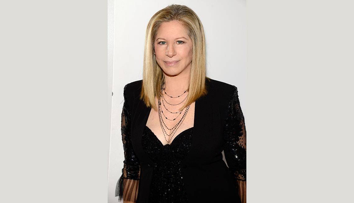 Barbra Streisand, estrellas de más de 70 años