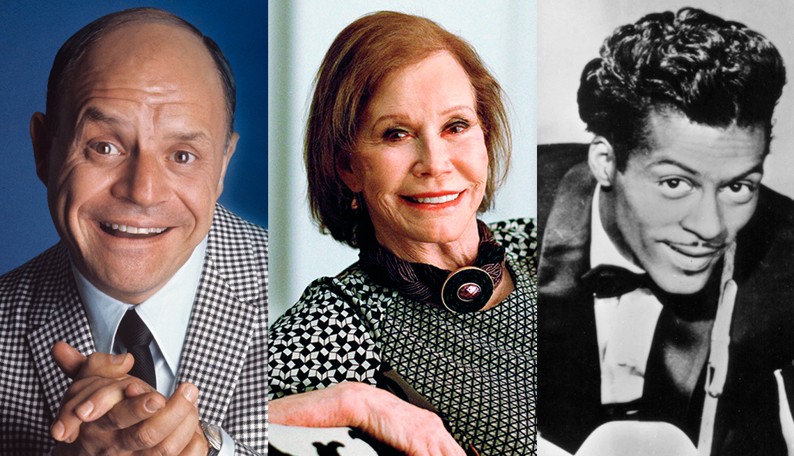 item 11 of Gallery image - Don Rickles, Mary Tyler Moore, Chuck Berry