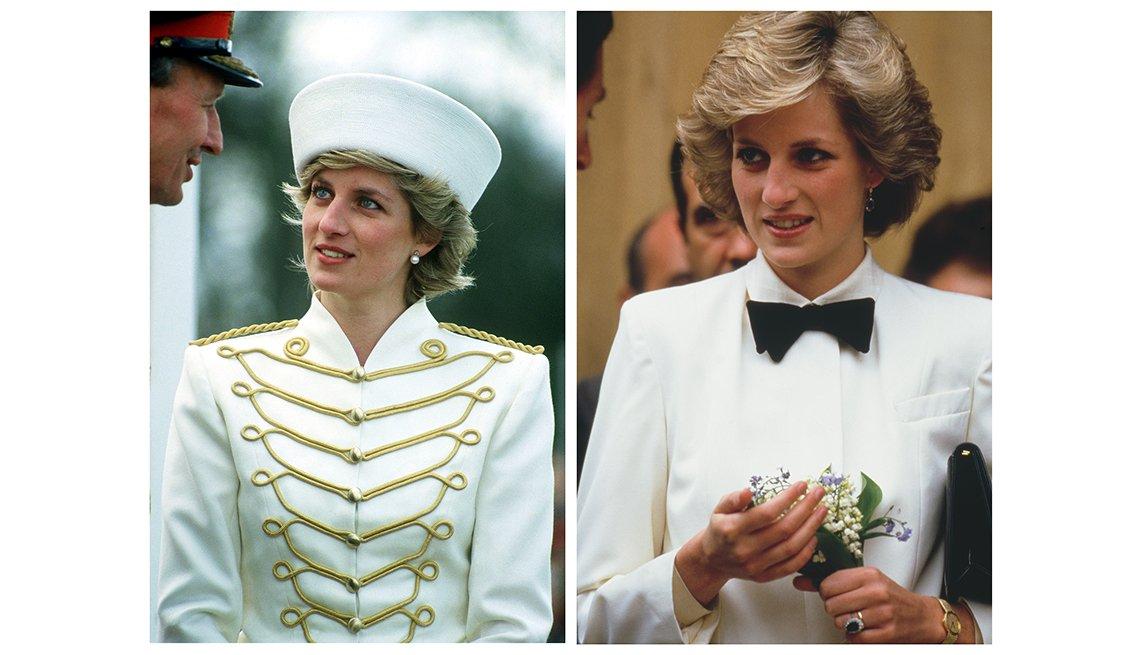 Diana a la moda,  recordando a la Princesa de Gales