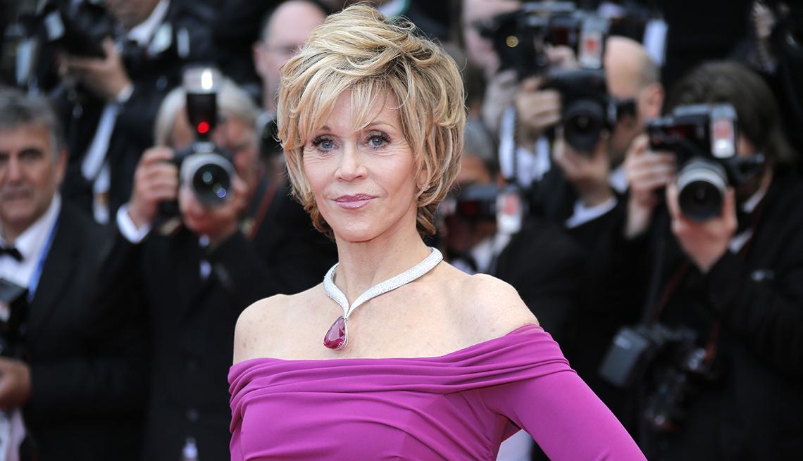Jane Fonda, estrellas de más de 70 años