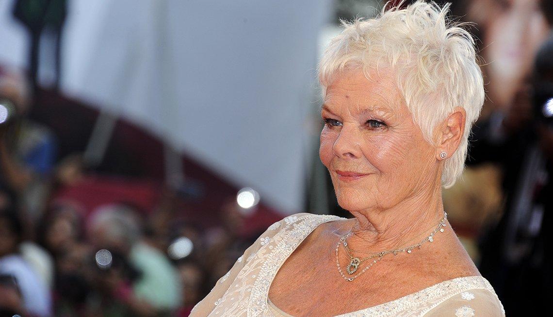 Judi Dench, estrellas de más de 70 años