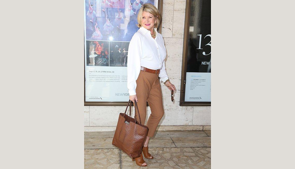Martha Stewart, estrellas de más de 70 años