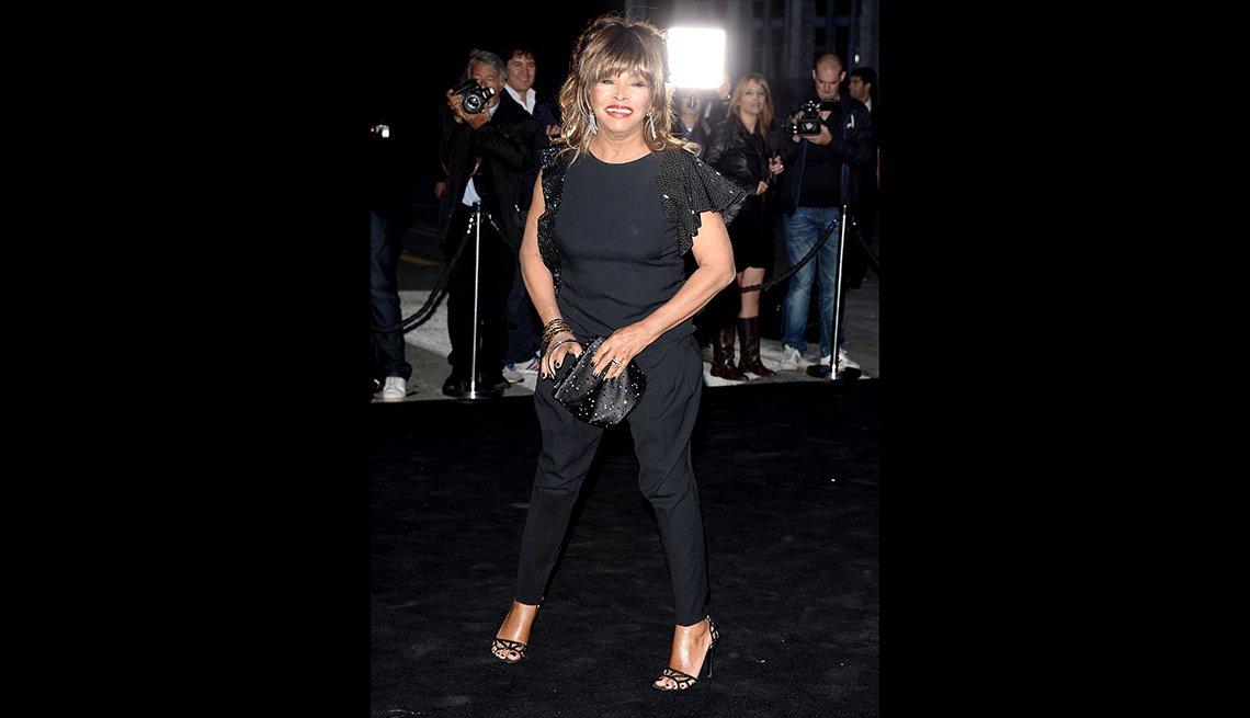 Tina Turner, estrellas de más de 70 años