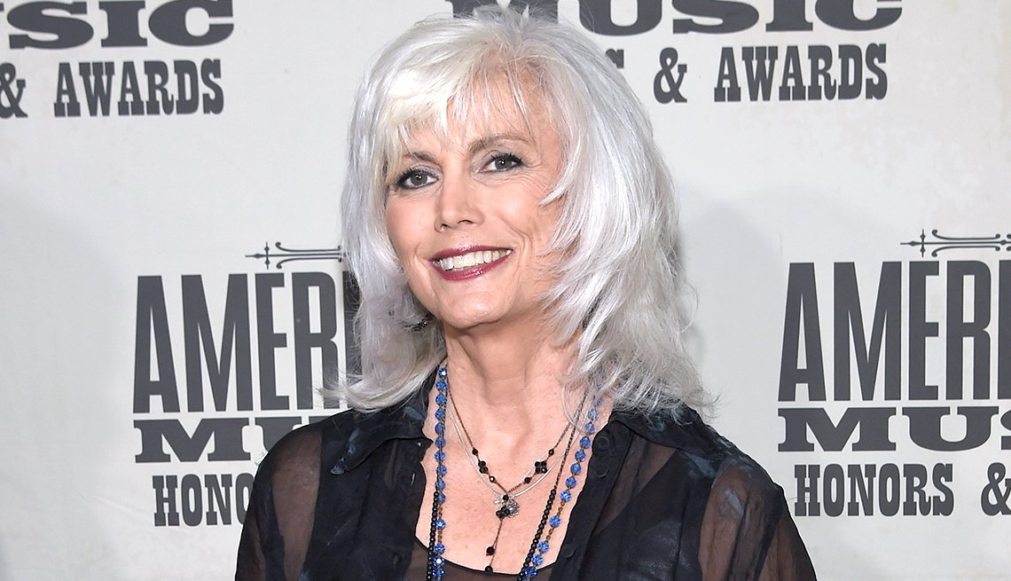 item 8, Gallery image.  Emmylou Harris attends the 2017 Americana Music Association Honors & Awards.
