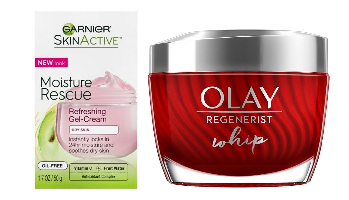 item 5 of Gallery image - Garnier SkinActive Moisture Rescue Refreshing Gel-Cream for Dry Skin y Olay Regenerist Whip