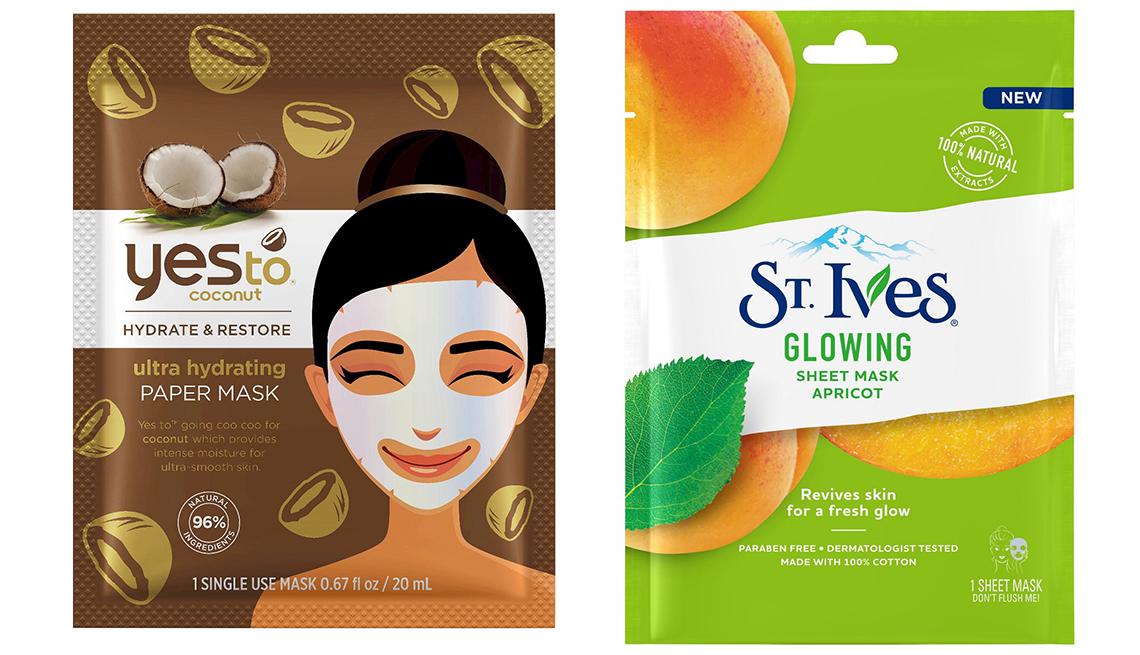 item 5 of Gallery image - de-stress sheet mask.