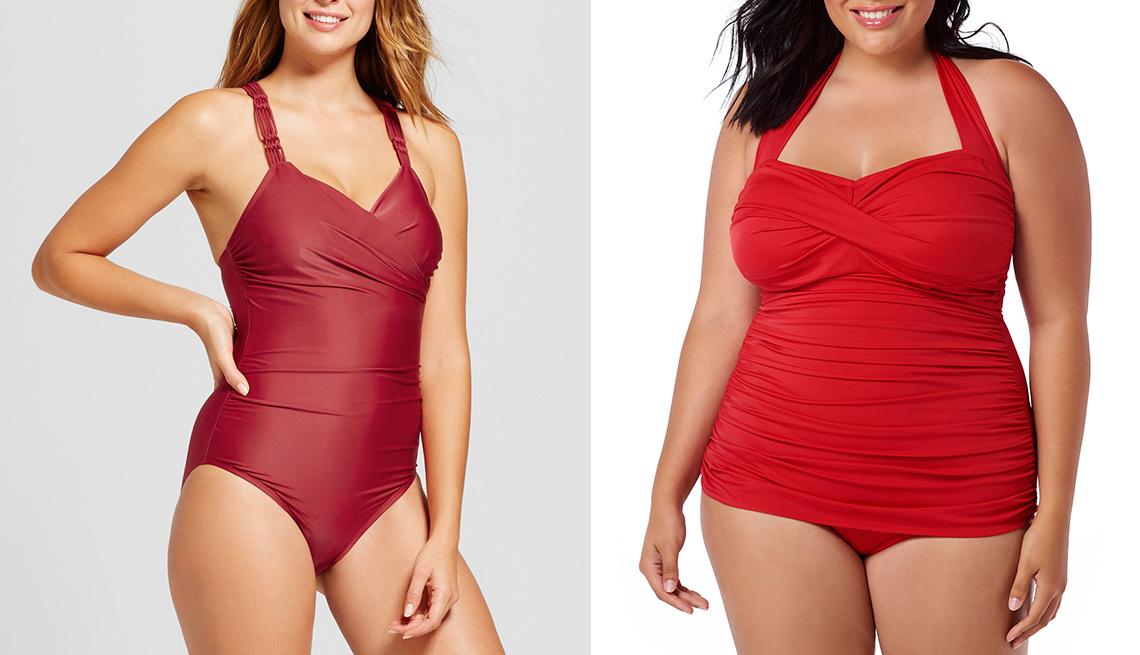item 11 of Gallery image - Dos mujeres en vestido de baño