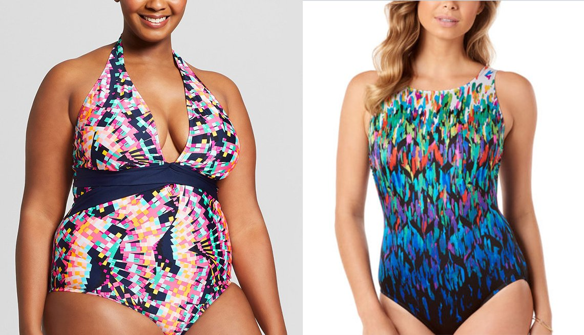 item 7 of Gallery image - Dos mujeres en vestido de baño