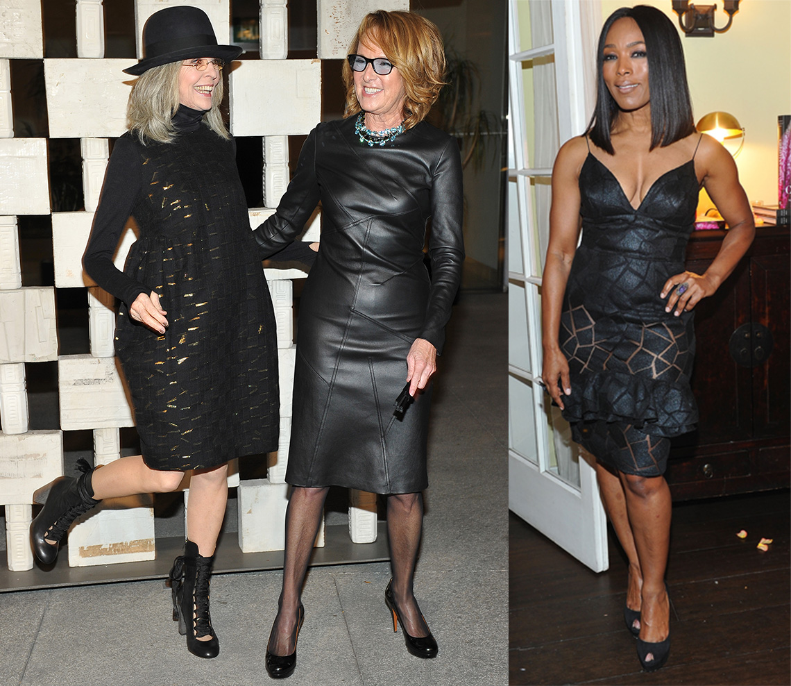 item 5 of Gallery image - Mujeres usando vestidos negros