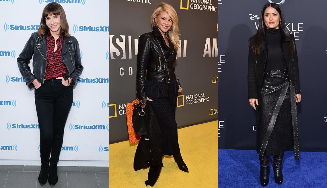item 11 of Gallery image - Mujeres usando chaquetas negras