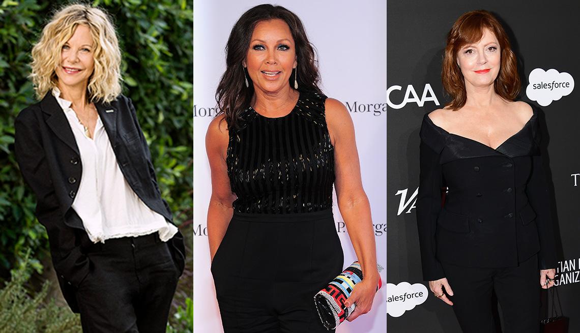 Mujeres usando ropa negra