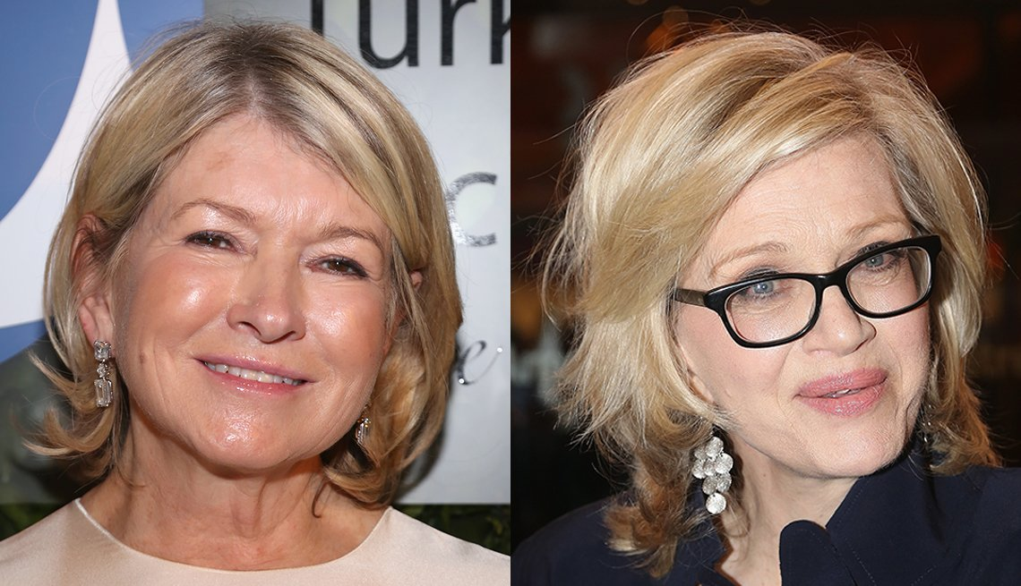 item 9 of Gallery image - Martha Stewart y Diane Sawyer