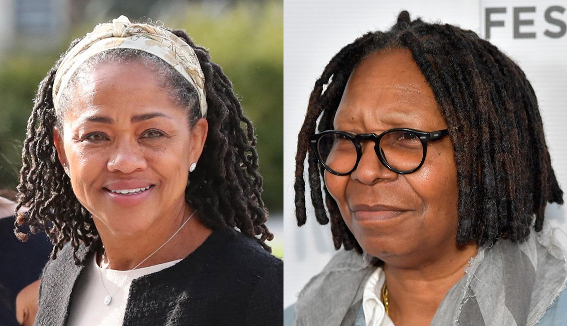 item 10 of Gallery image - Doria Ragland y Whoopi Goldberg