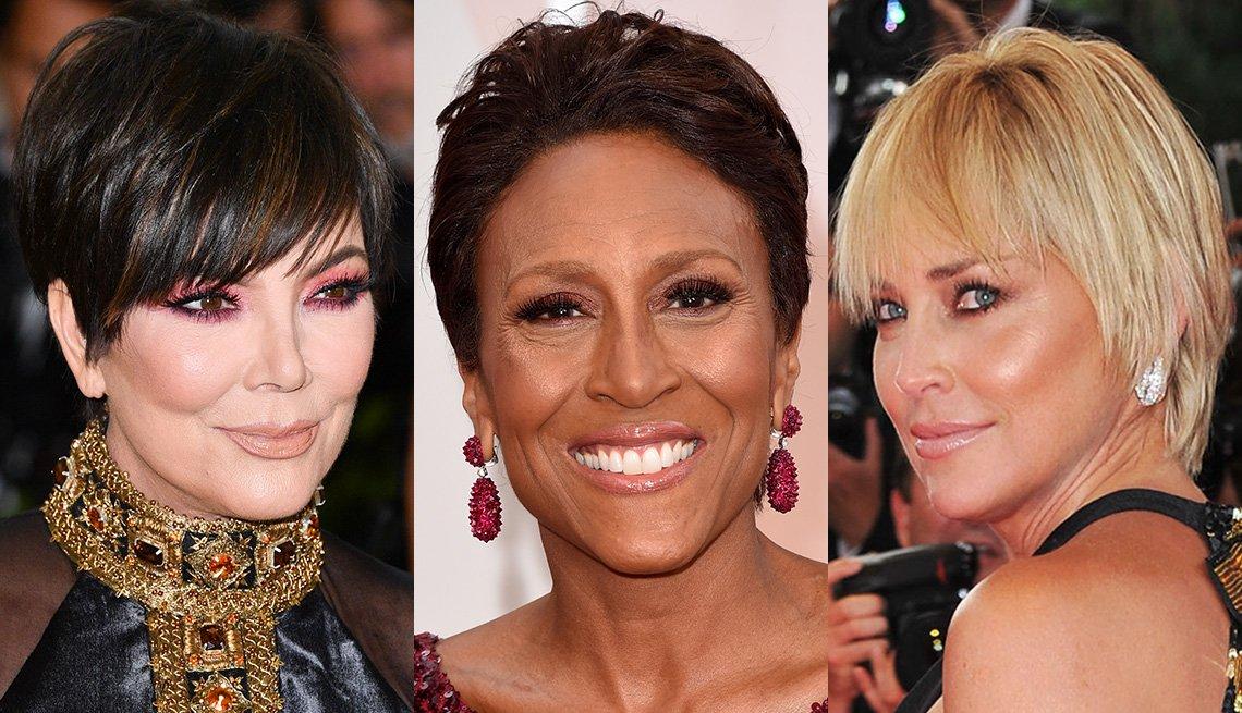 Kris Jenner, Robin Roberts y Sharon Stone