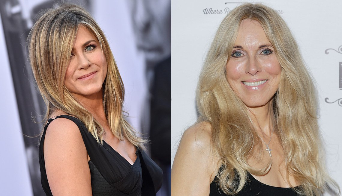 item 9, Gallery image. Jennifer Aniston, Alana Stewart