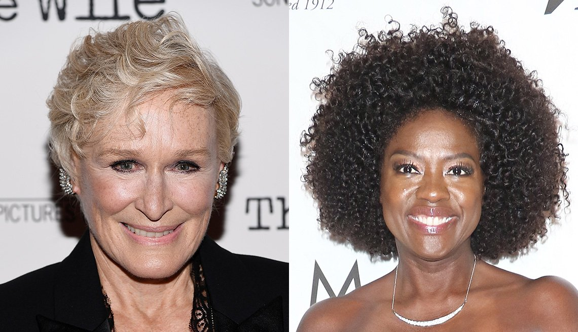 item 1, Gallery image. Glenn Close, Viola Davis