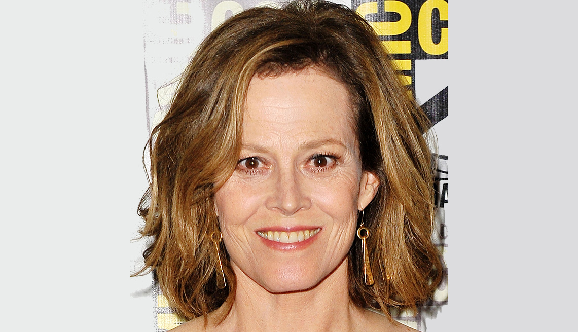 item 12 of Gallery image - Sigourney Weaver with a lighter hair color.