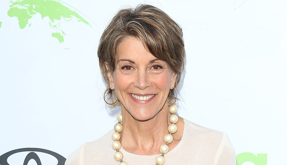 item 3 of Gallery image - Wendie Malick short multi-color gray and brown hair gets a boost from highlights and lowlights