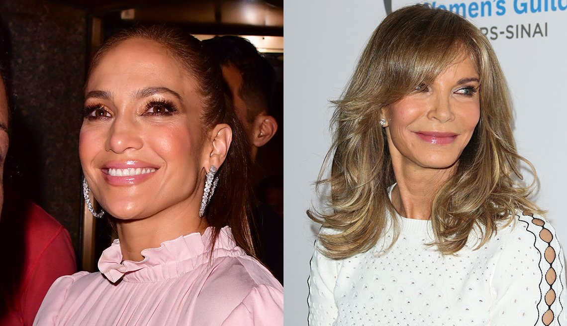 item 4, Gallery image. Jennifer Lopez, Jaclyn Smith