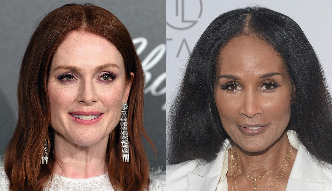 item 10, Gallery image. Julianne Moore, Beverly Johnson