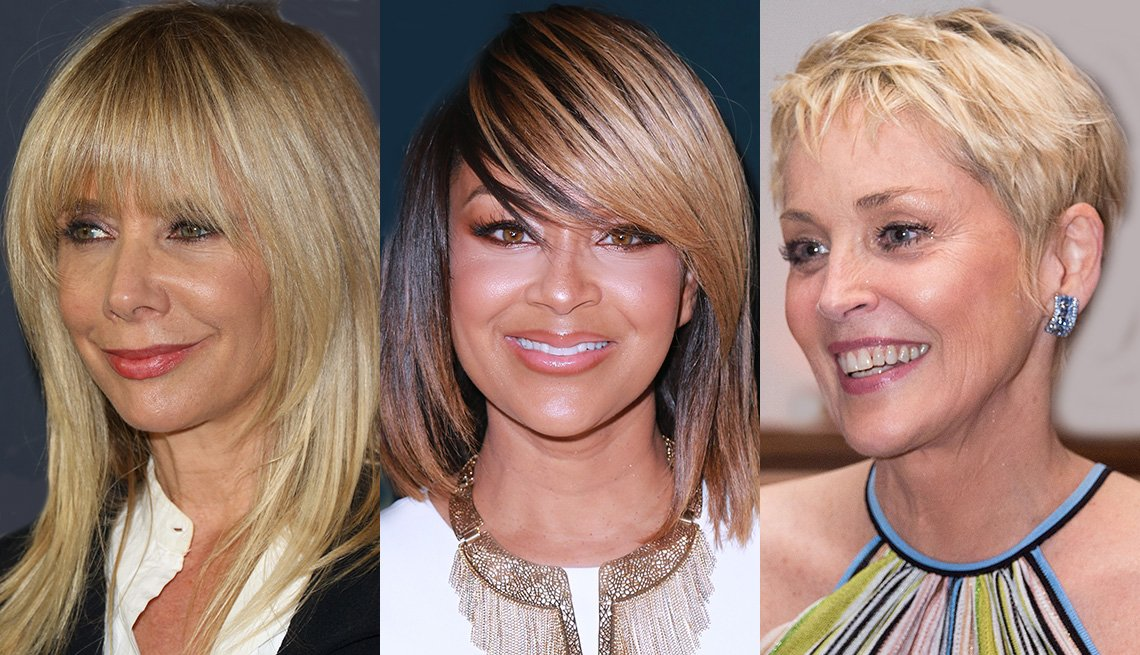 Rosanna Arquette, LisaRaye and Sharon Stone with bangs