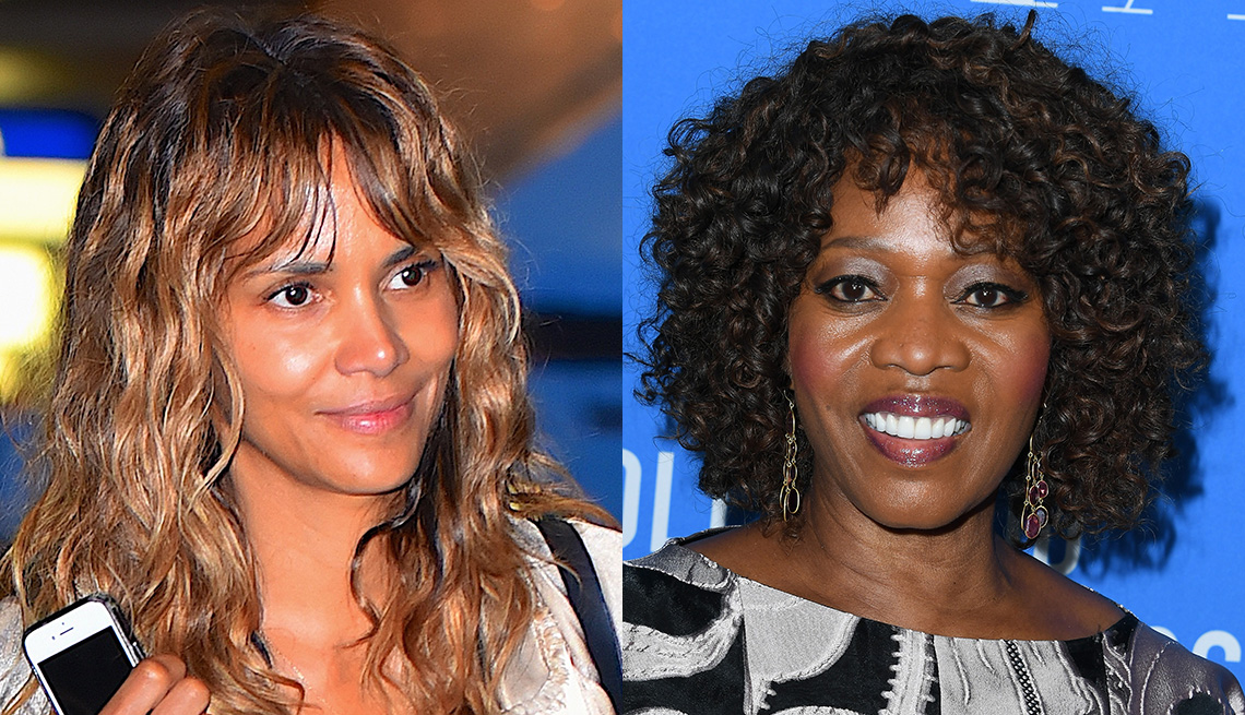 item 11 of Gallery image - Halle Berry and Alfre Woodard with bangs