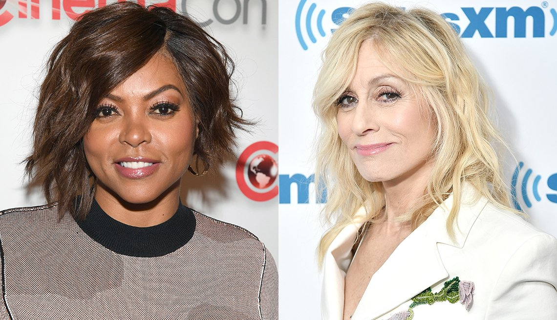 item 1 of Gallery image - Taraji P. Henson and Judith Light with bangs