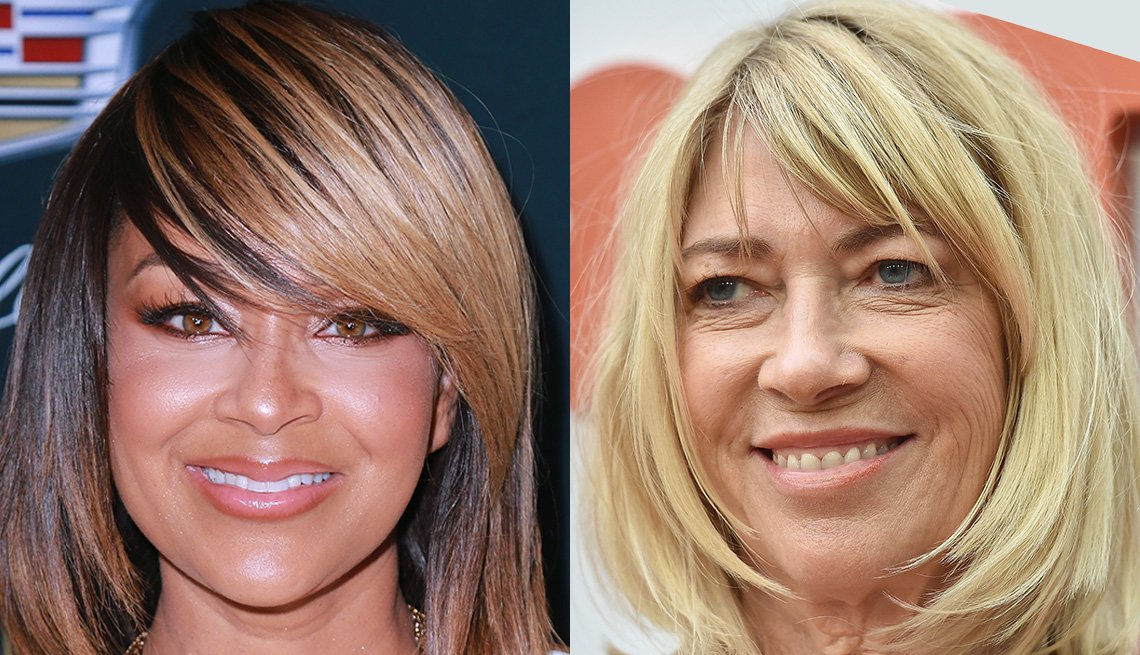 item 2 of Gallery image - LisaRaye  and Kim Gordon with bangs