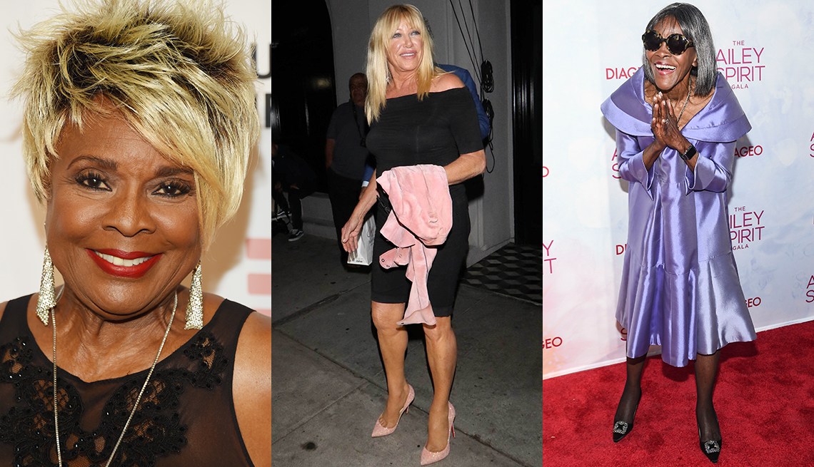 item 10 of Gallery image - Thelma Houston, Suzanne Somers and Cicely Tyson shows off unique styles