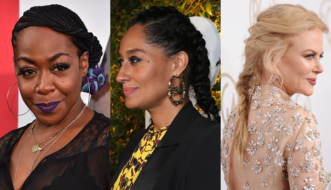 item 11 of Gallery image - Tichina Arnold, Tracee Ellis Ross and Nicole Kidman with braided hair