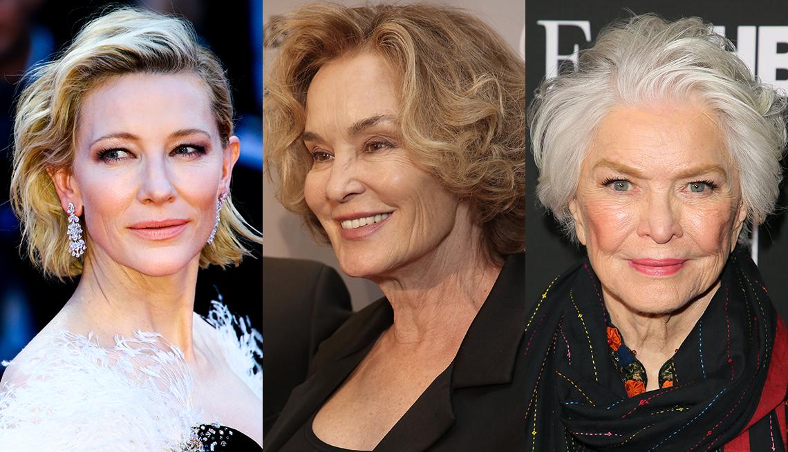 item 5 of Gallery image -  Cate Blanchett, Jessica Lange and Ellen Burstyn with wavy hair
