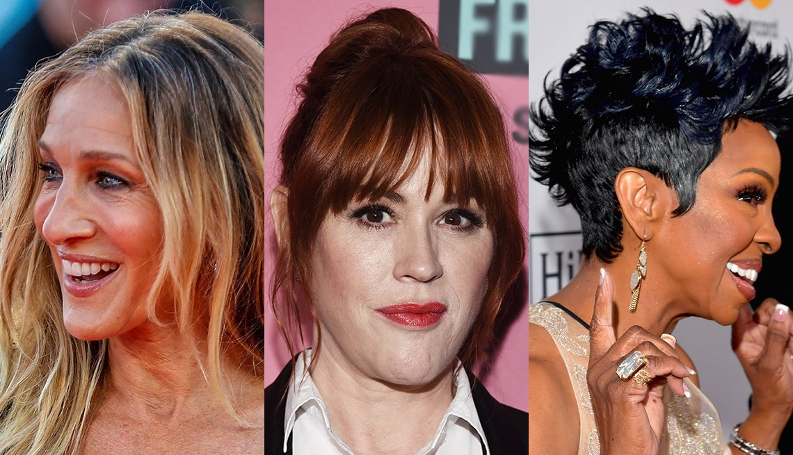 Various hairstyles for bad hair days