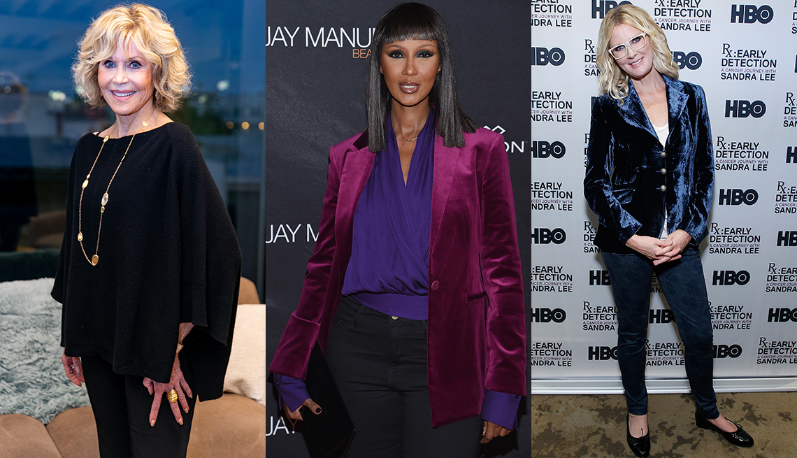 item 9 of Gallery image - Jane Fonda, Iman Abdelhamid and Sandra Lee dressed up