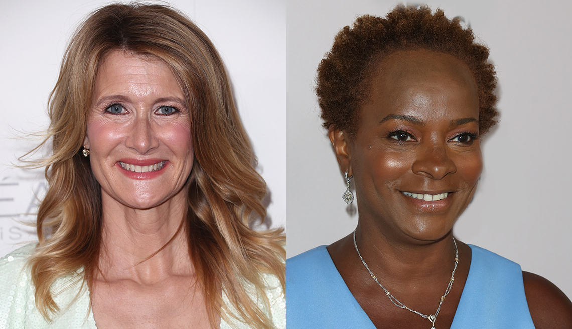 item 2 of Gallery image - Laura Dern and Vanessa Bell Calloway with rosy cheeks