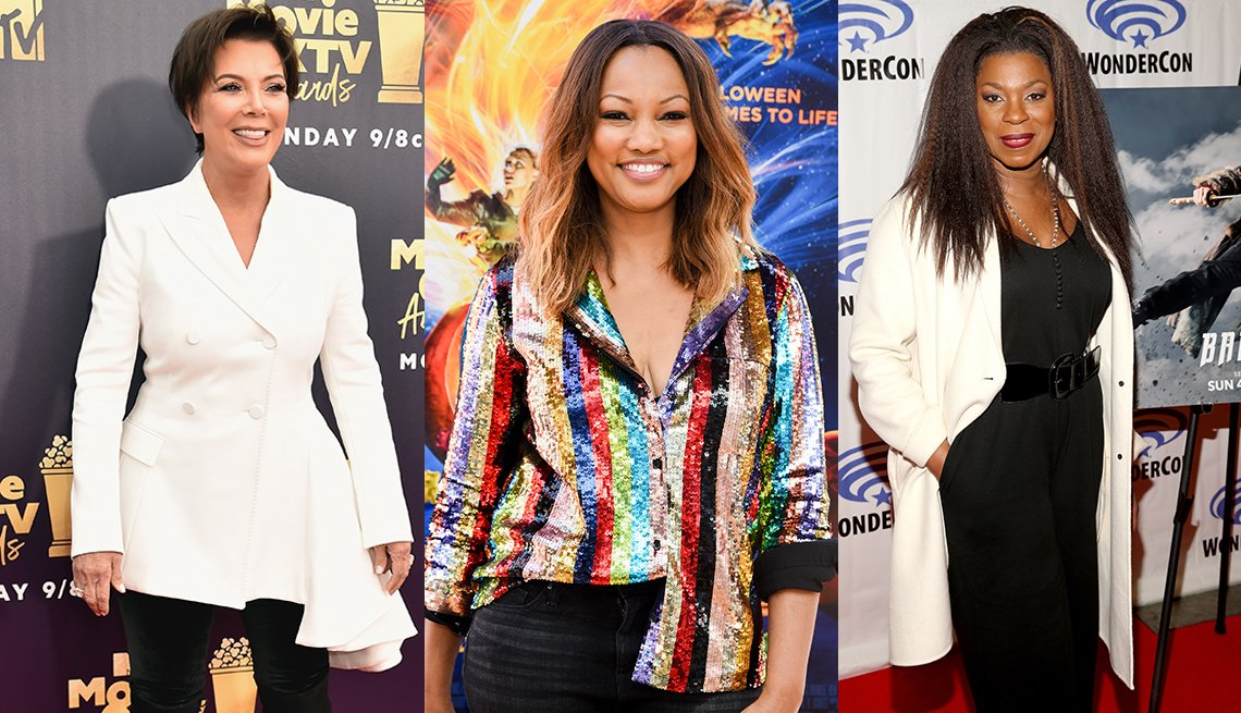 Kris Jenner, Garcelle Beauvais and Lorraine Toussaint in various outfits