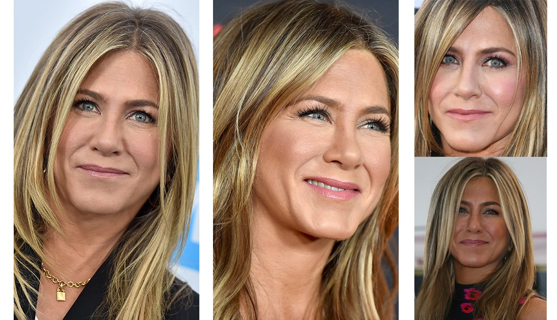 item 2 of Gallery image - Jennifer Aniston with natural-looking makeup