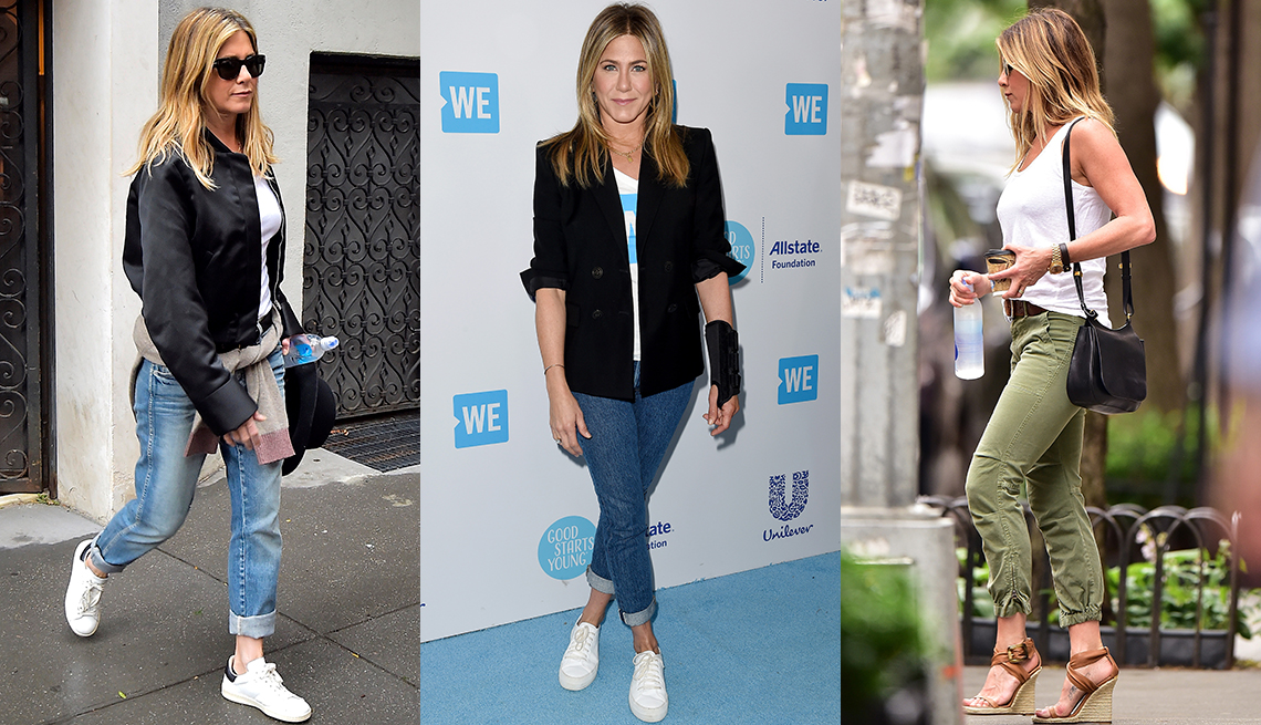 item 5 of Gallery image - Jennifer Aniston in jeans