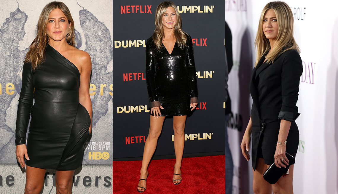 item 8 of Gallery image - Jennifer Aniston showing off her legs with short dresses