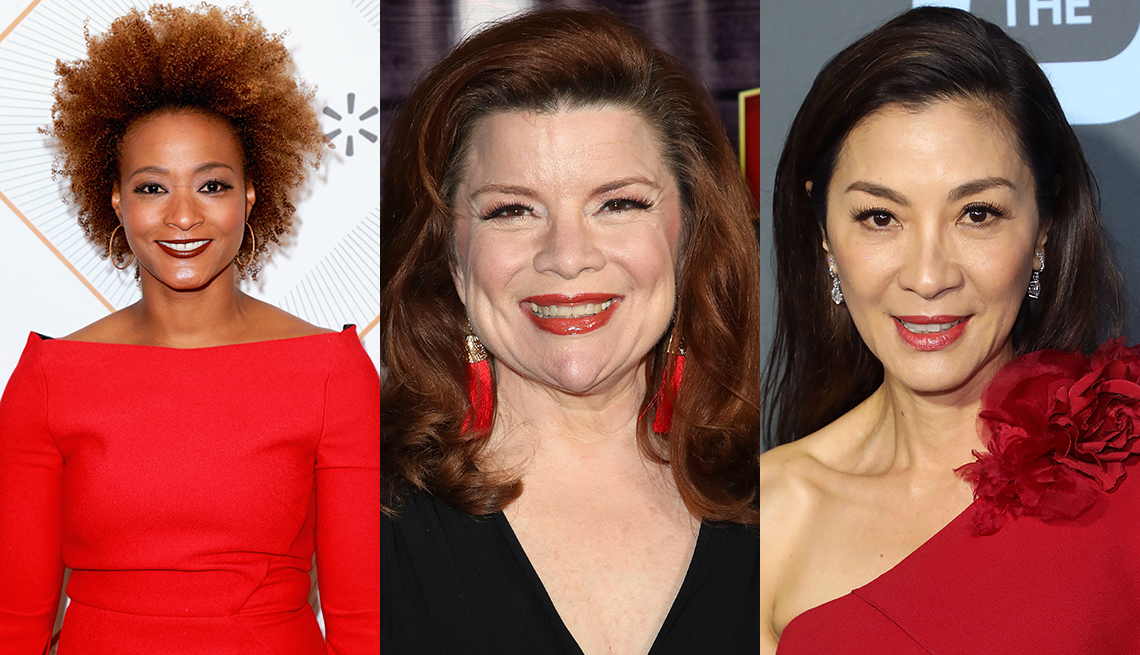 item 1, Gallery image. From left:Karin Gist,Renee Lawless,Michelle Yeoh