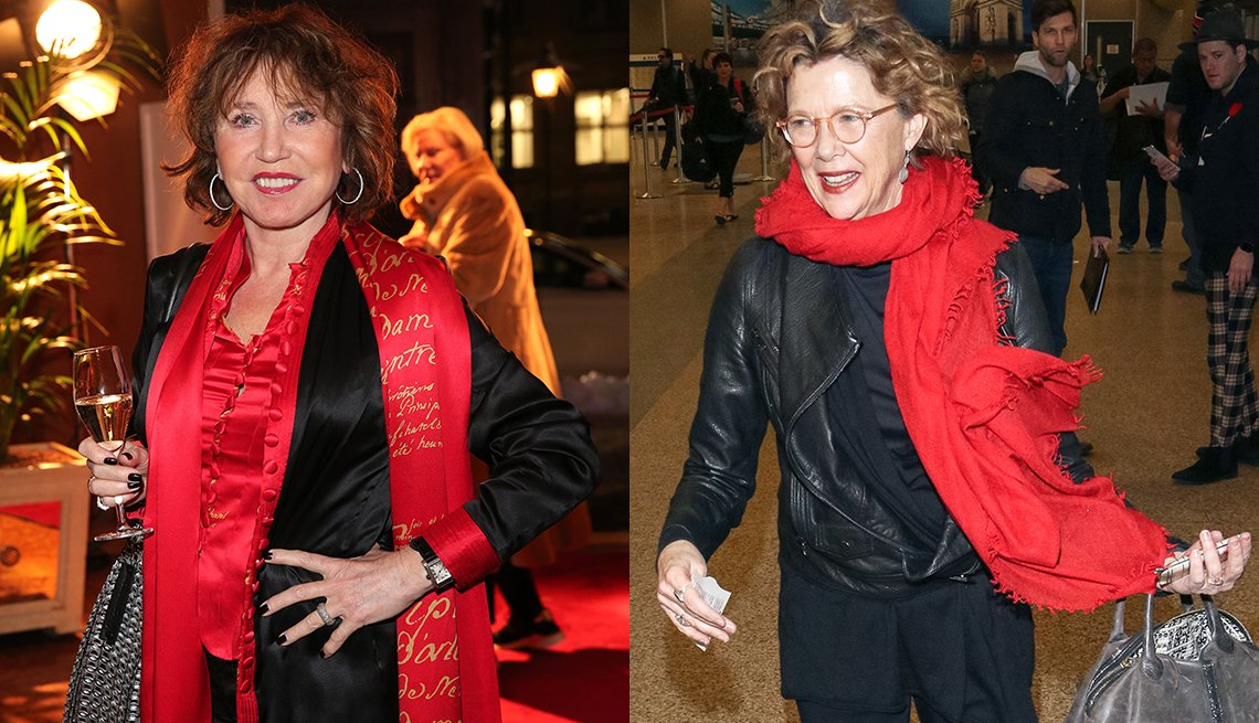 item 3, Gallery image. From left: Dunja Siegel, Annette Bening