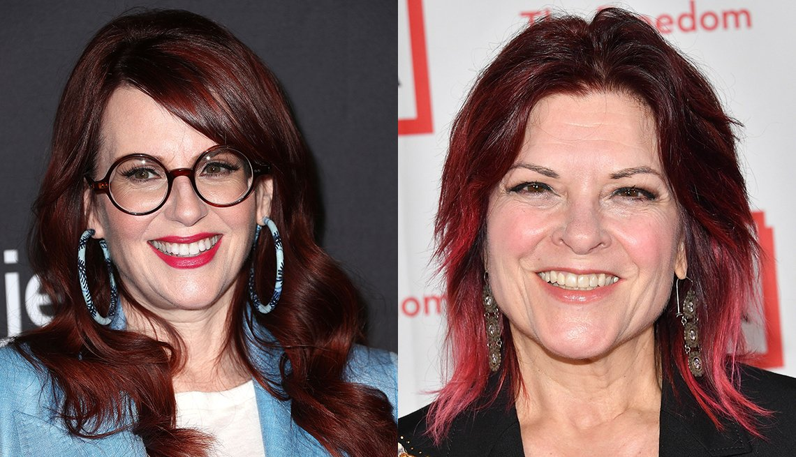 item 7, Gallery image. From left: Megan Mullally, Rosanne Cash