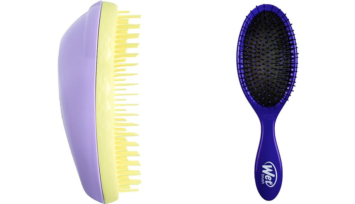 item 5 of Gallery image - Tangle Teezer The Original Detangling Hair Brush and Wet Brush Detangler Hair Brush