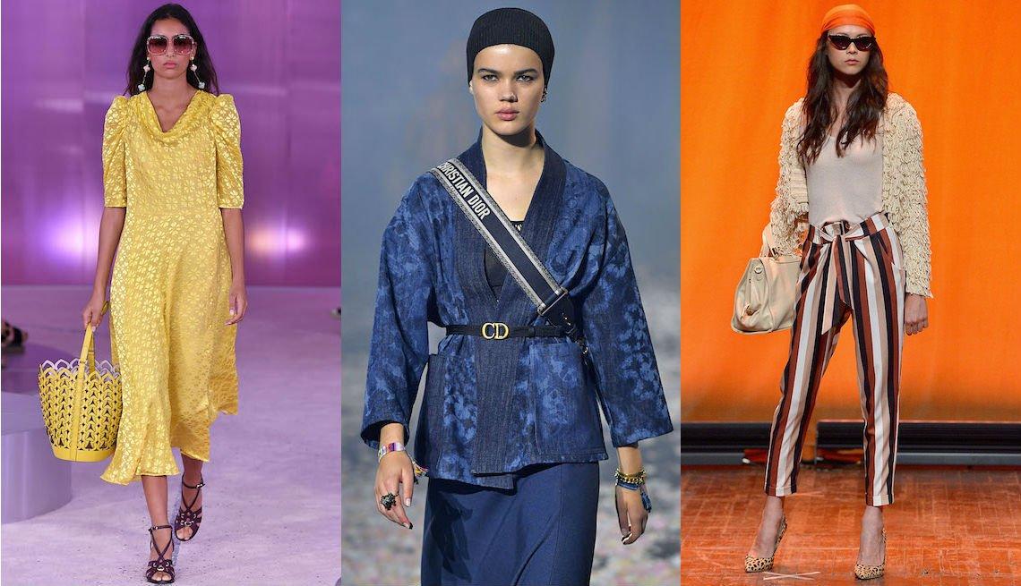 Modelos muestran las tendencias para el verano