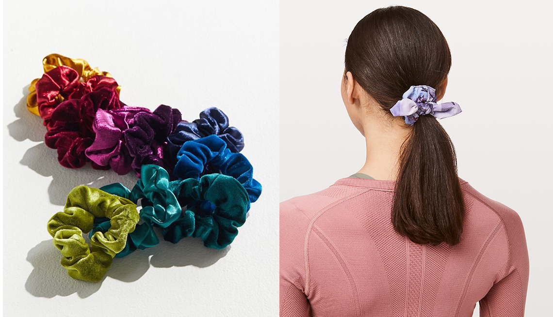 item 4 of Gallery image - Urban Outfitters Perfect 10 scrunch Set Lululemon Uplifting Scrunchie Bow