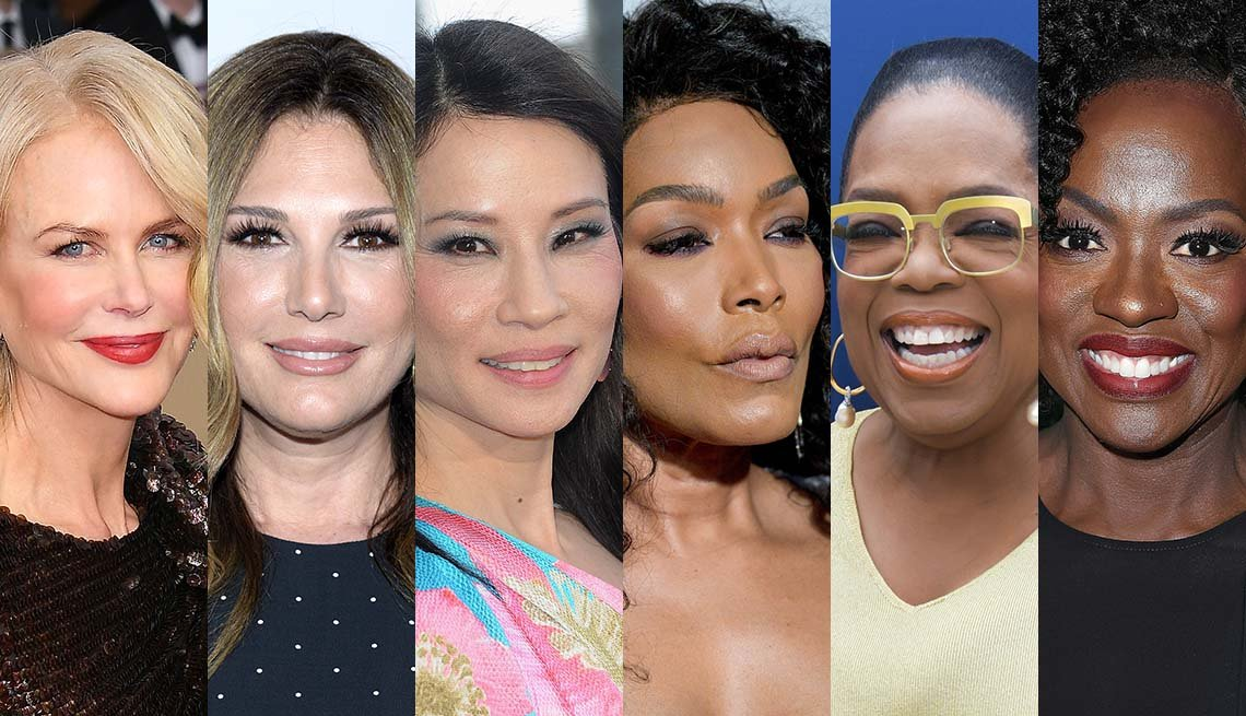 Nicole Kidman, Daisy Fuentes, Lucy Liu, Angela Bassett, Oprah Winfrey, Viola Davis