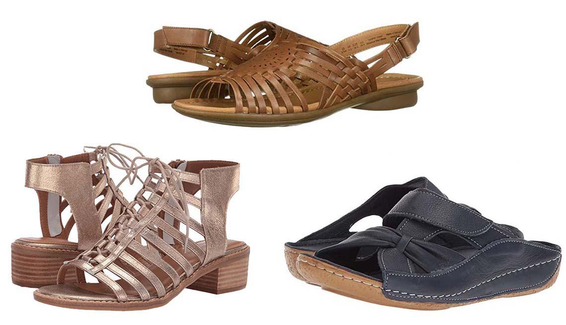 Los mejores zapatos de verano para pies con problemas
